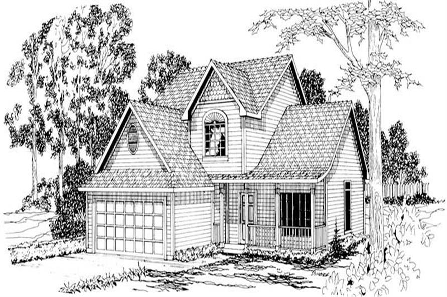 Main image for house plan # 3040