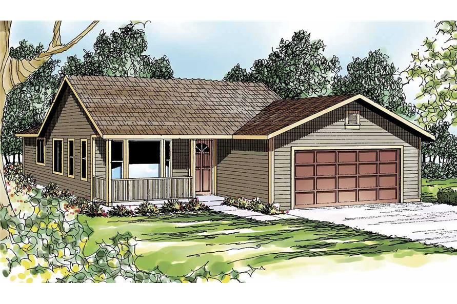 Main image for house plan # 3041