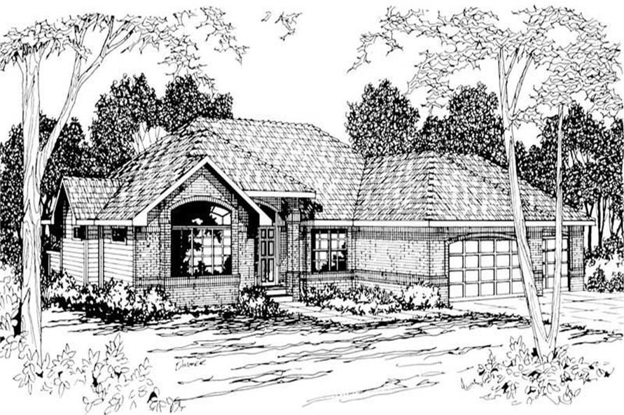 Main image for house plan # 3017