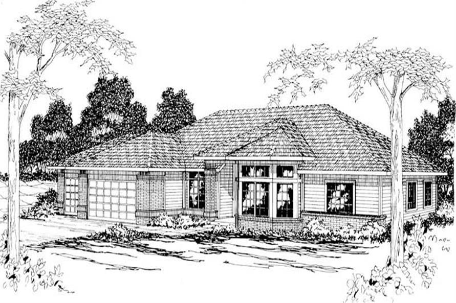 Main image for house plan # 2886