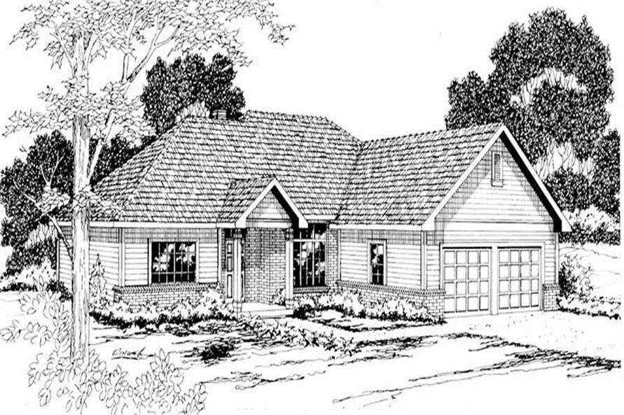 Main image for house plan # 3008
