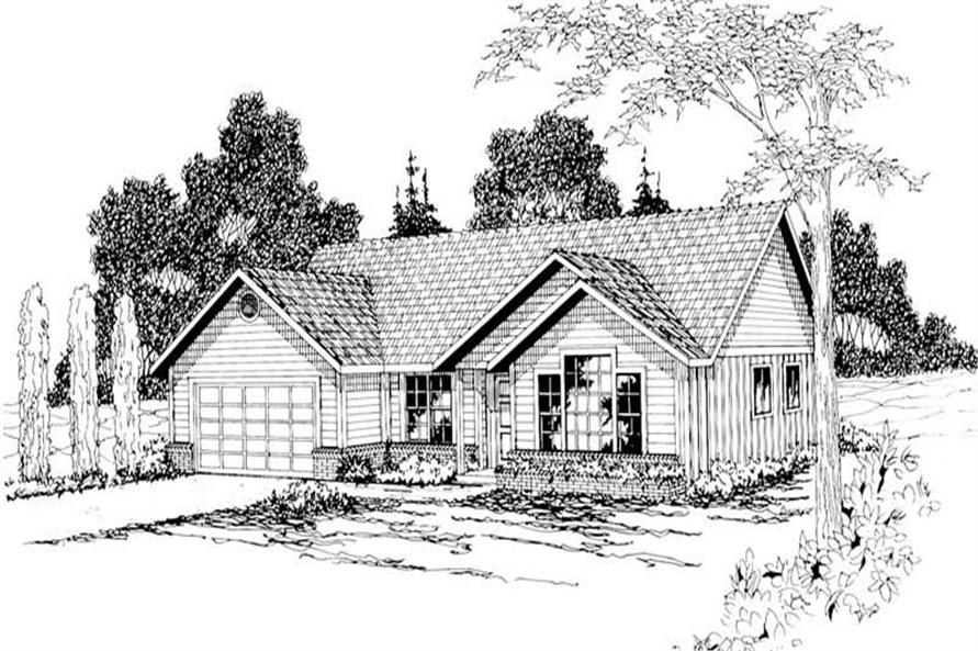 Main image for house plan # 3010