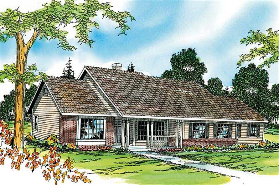 Main image for house plan # 3011