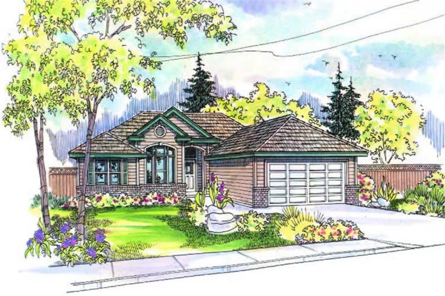 Main image for house plan # 2982