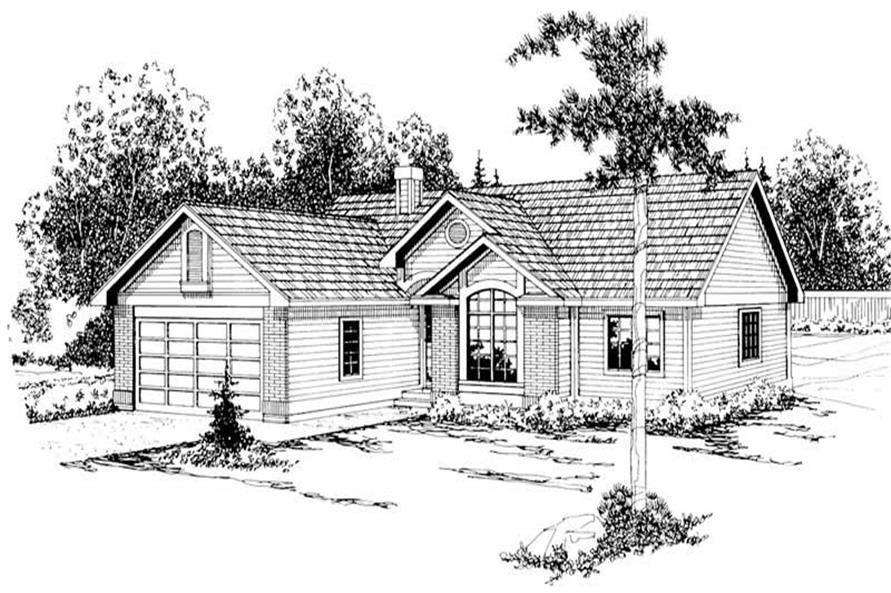 Main image for house plan # 3028