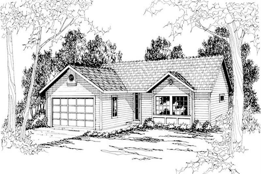 Main image for house plan # 3025