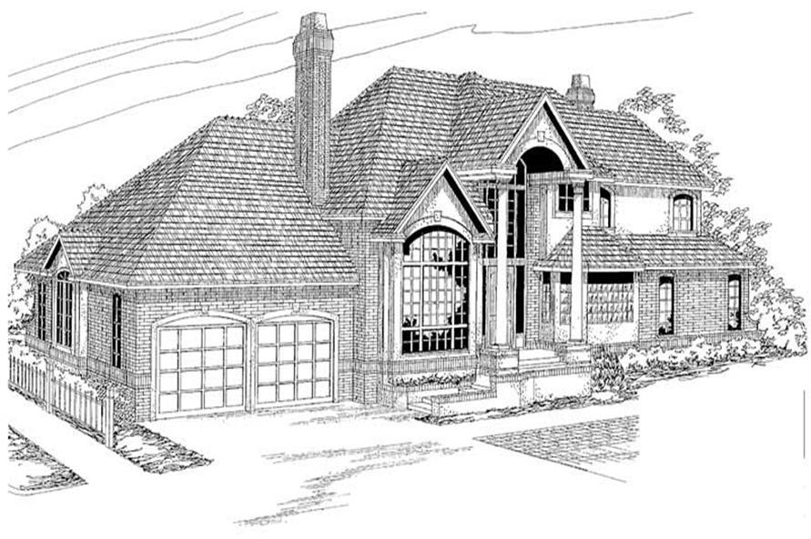Main image for house plan # 2911