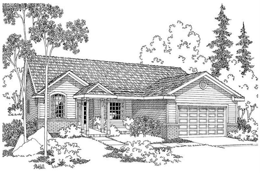 Main image for house plan # 2942