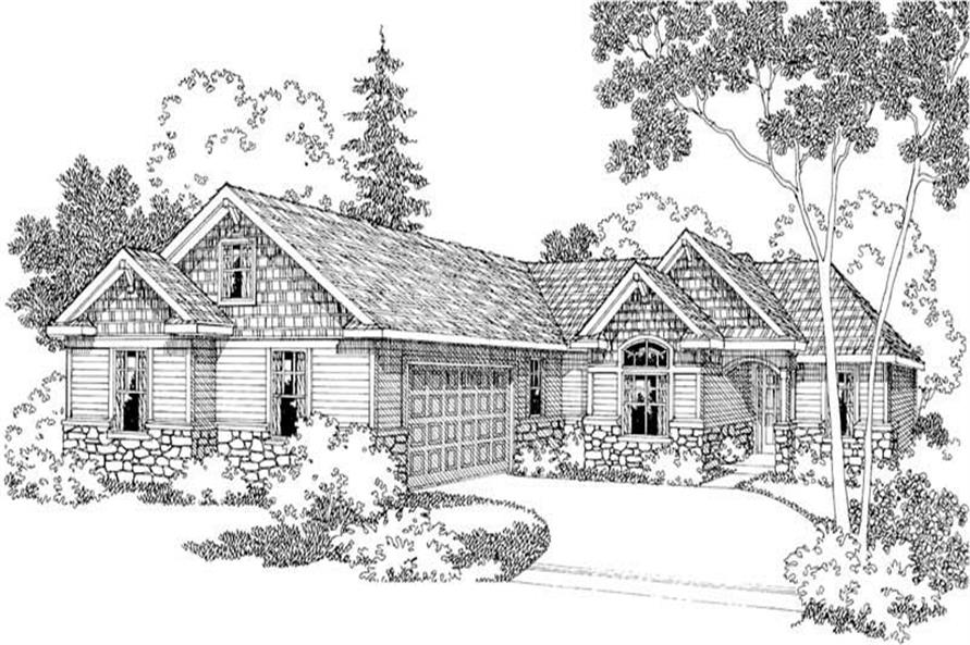 Main image for house plan # 2941