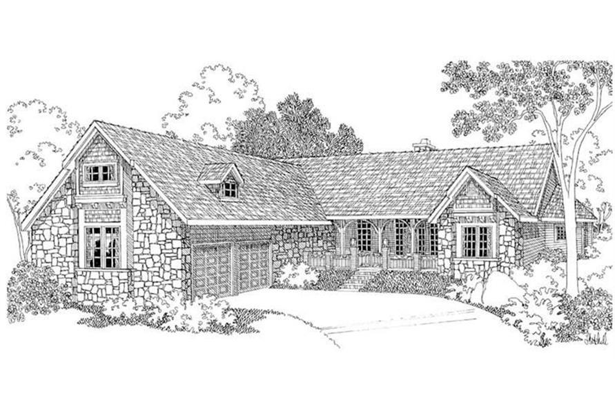 108-1231: Home Plan Rendering