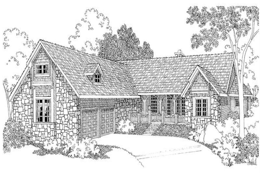 Main image for house plan # 2946