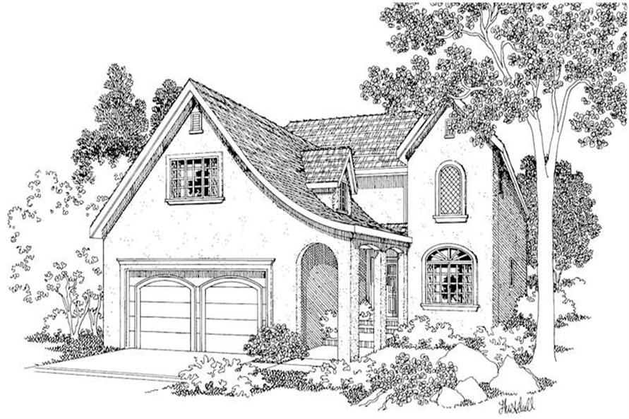 Main image for house plan # 2927