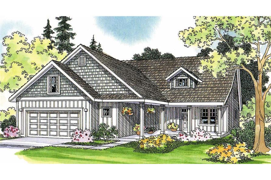 Main image for house plan # 2930