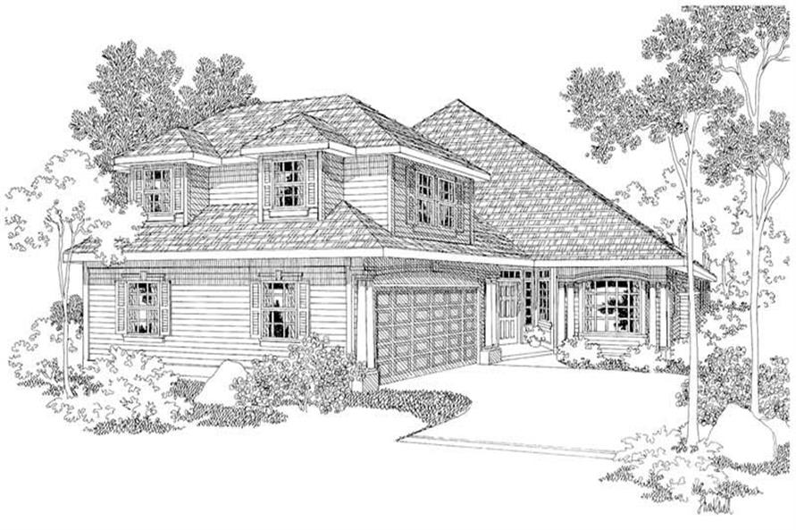Main image for house plan # 2913