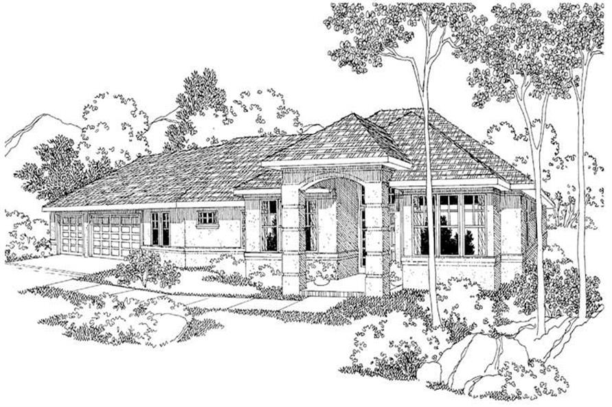 Main image for house plan # 2935
