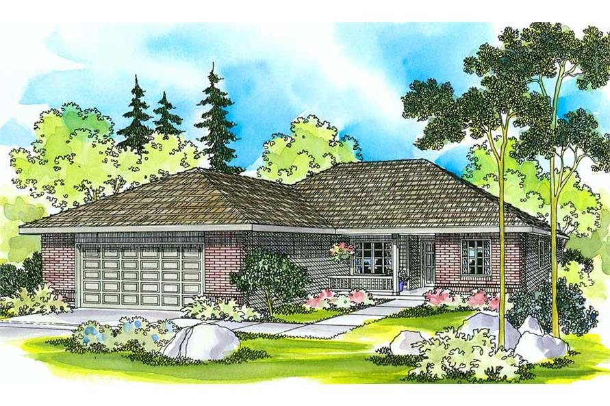 Main image for house plan # 2938