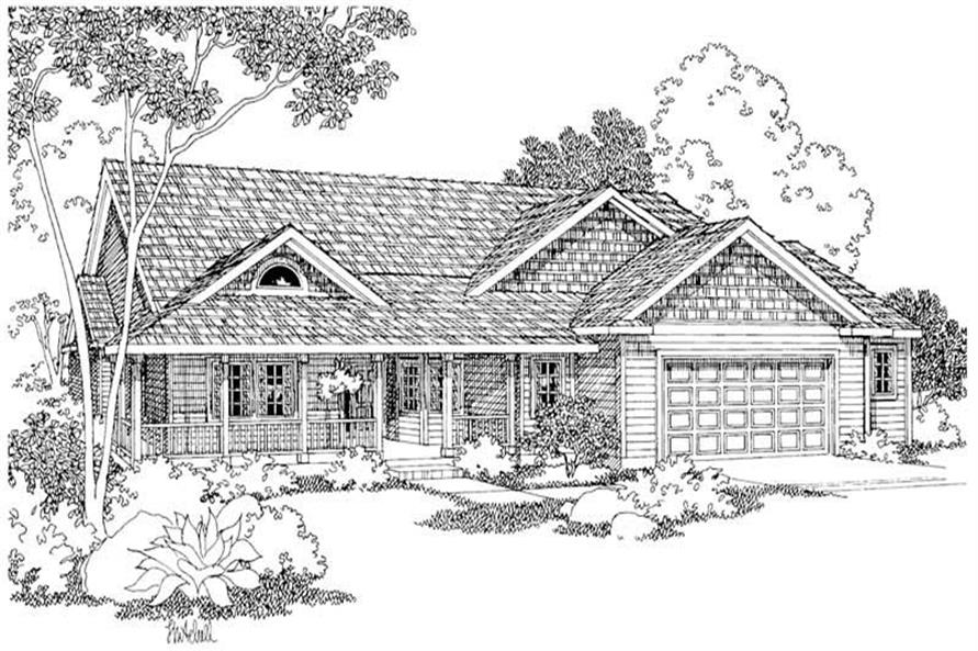 Main image for house plan # 2939