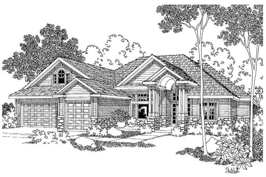 Main image for house plan # 2940
