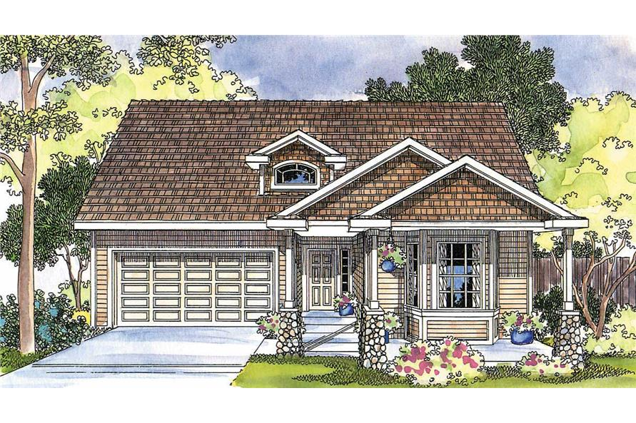 Main image for house plan # 2931