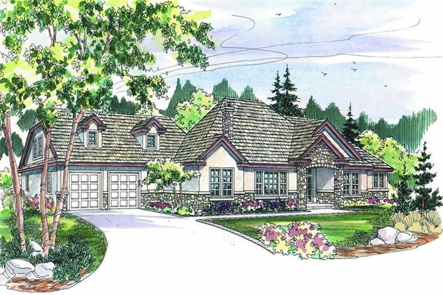 Main image for ranch house plan # 2968