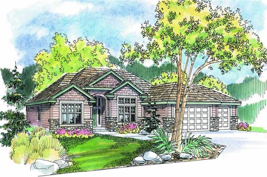 Main image for house plan # 2973