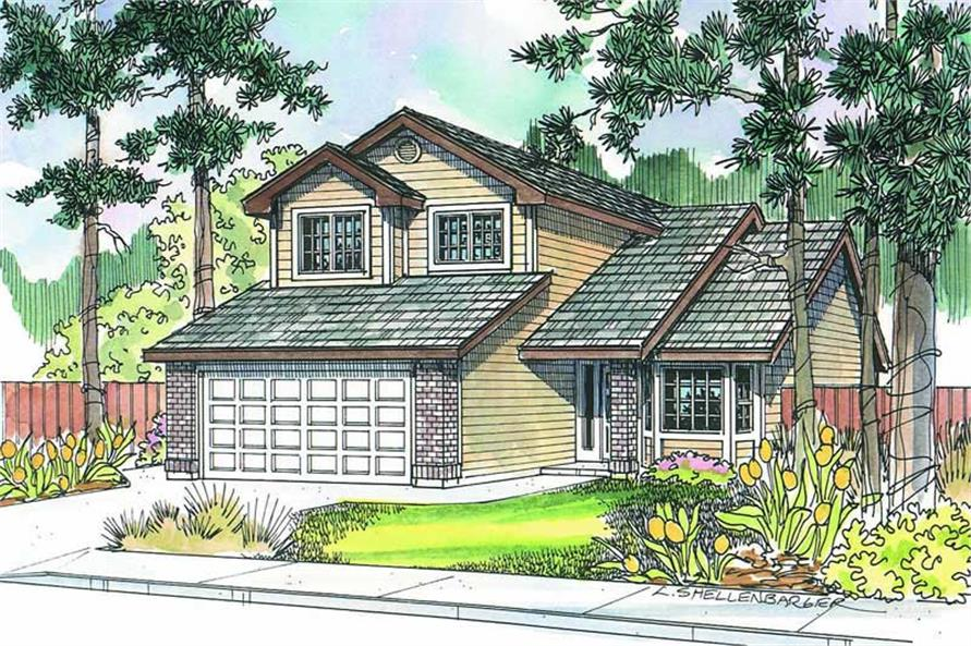 Main image for house plan # 2977