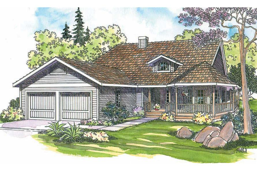 Main image for house plan # 2892