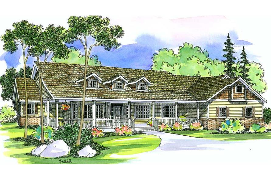 Main image for house plan # 2954