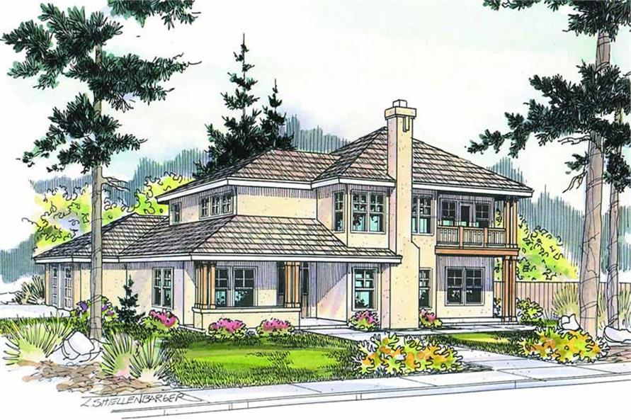 Main image for house plan # 2965