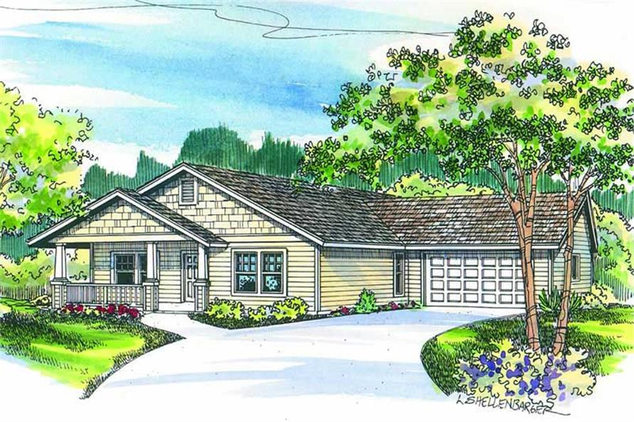 Main image for house plan # 2964