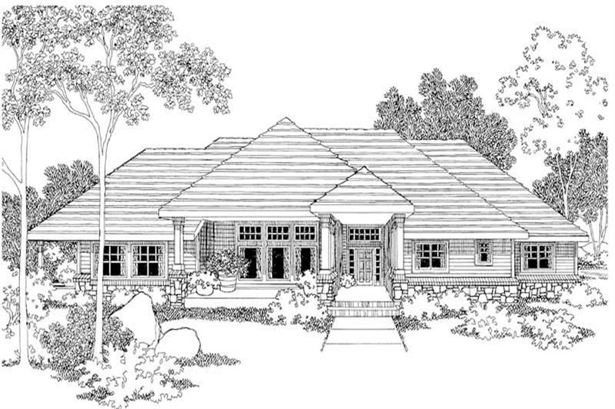 Main image for house plan # 2959