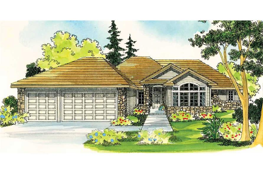 Main image for house plan # 2960
