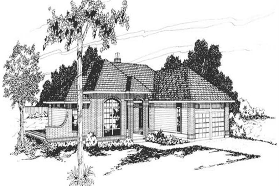 Main image for house plan # 2851