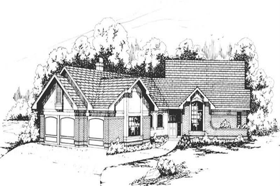 Main image for house plan # 2846