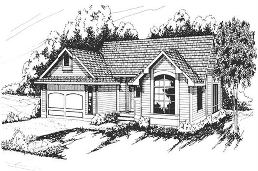 Main image for house plan # 2845