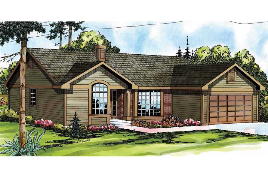 Main image for house plan # 2855