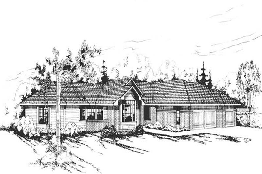 Main image for house plan # 2843