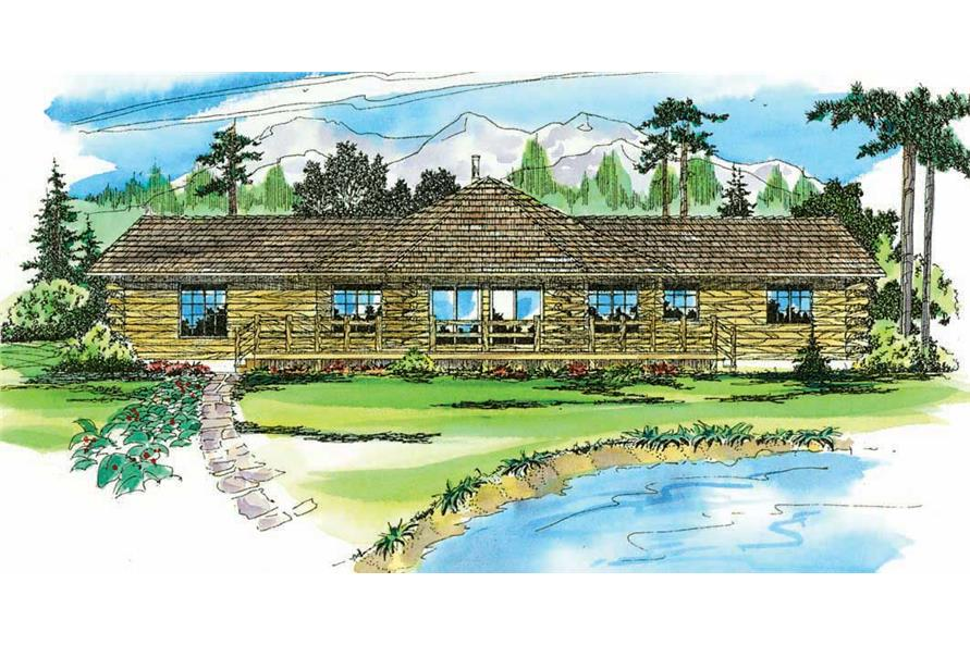 Main image for house plan # 2856