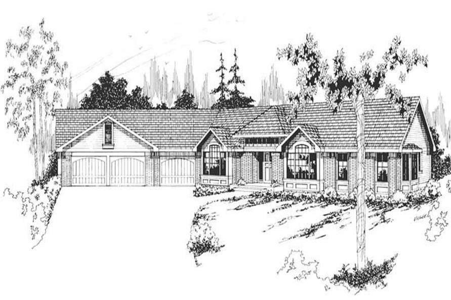 Main image for house plan # 2837