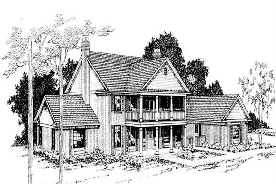 Main image for house plan # 2836