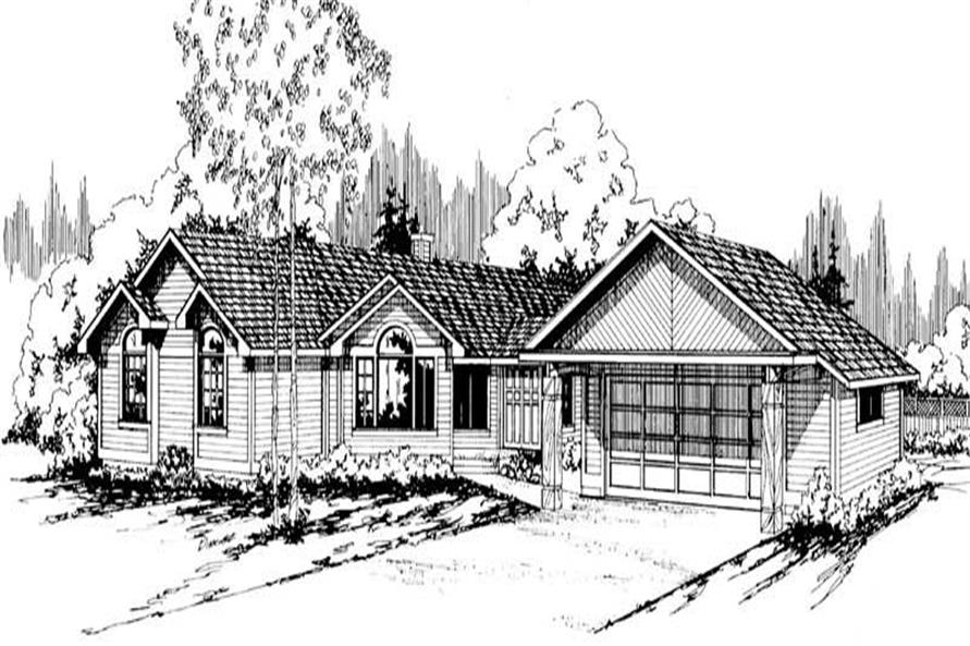 Main image for house plan # 2834