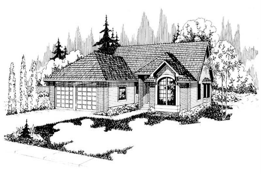 Main image for house plan # 2833