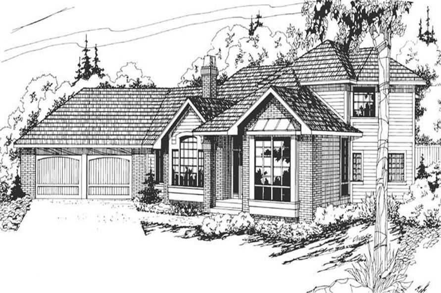 Main image for house plan # 2844