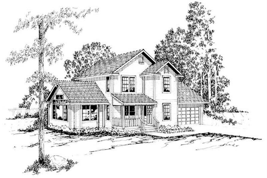 Main image for house plan # 2876
