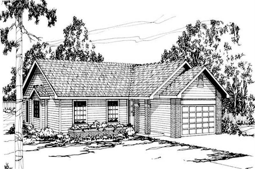 Main image for house plan # 2874