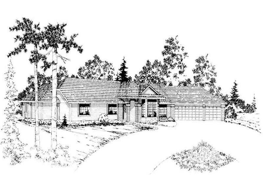 Main image for house plan # 2873