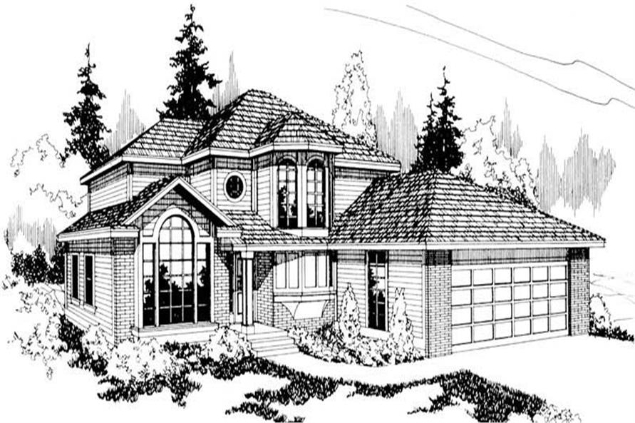 Main image for house plan # 2872