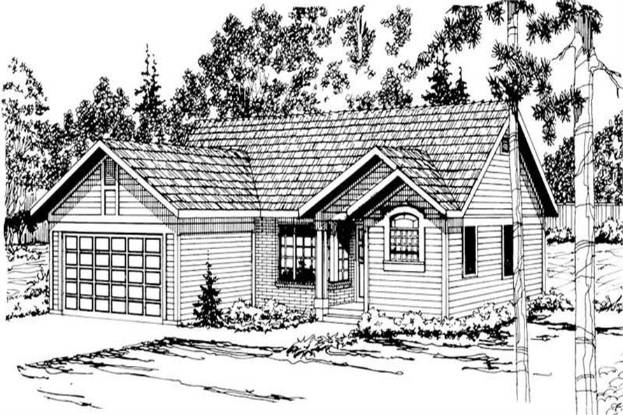 Main image for house plan # 2871
