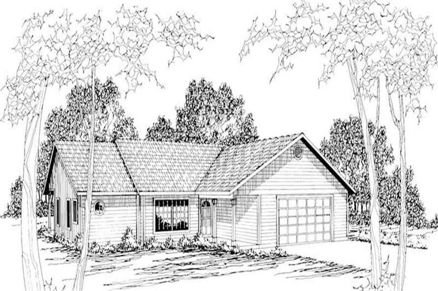 Main image for house plan # 2870