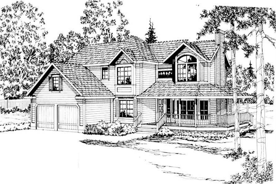 Main image for house plan # 2868